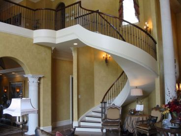 Full Curved Staircase 22